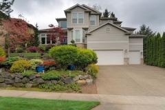 Single Family Home Front Yard Garden